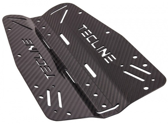 Tecline Kohlefaser Backplate (3 mm)