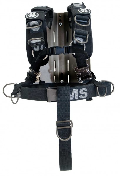 OMS ALU Backplate inkl. Comfort Harness System III