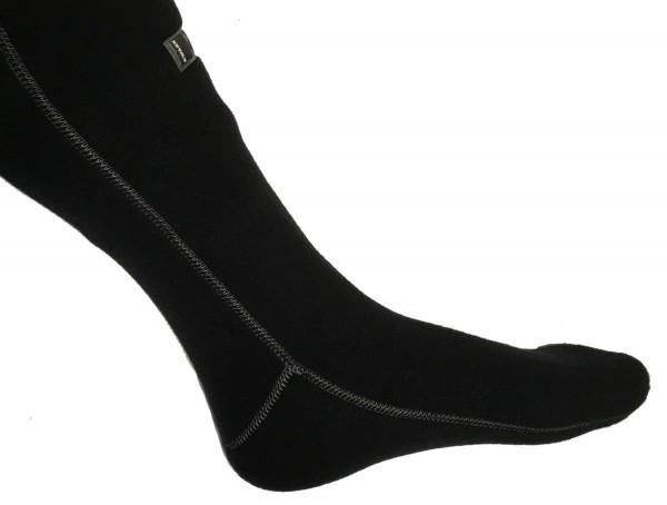 KWARK Socken Navy (Nahtfarbe Grau)