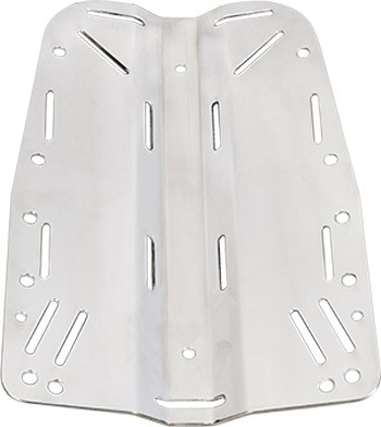 DIRZONE Edelstahl Backplate (3mm)