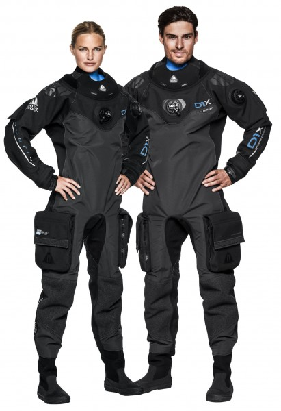 Waterproof D1X HYBRID ISS Trockentauchanzug