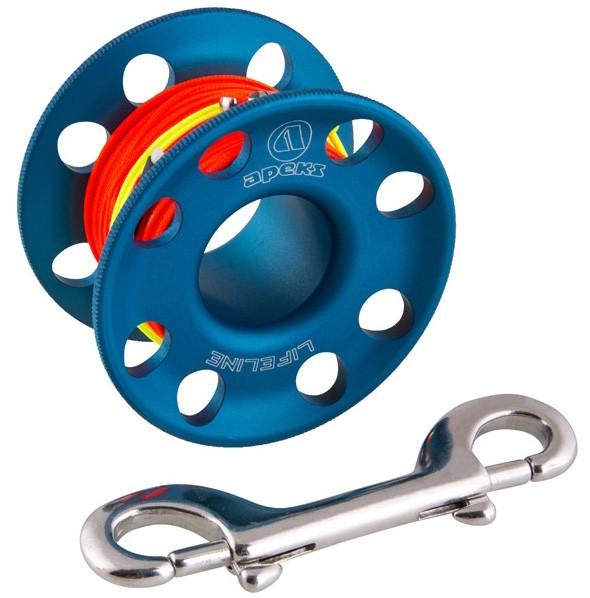 Apeks Spool (45 Meter) Blau