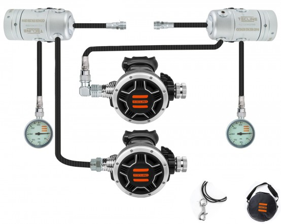 Tecline R2 TEC1 Sidemount Atemregler-Set
