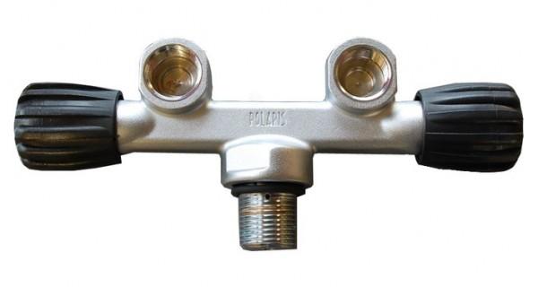 Polaris T-Doppelventil (Tauchflasche)