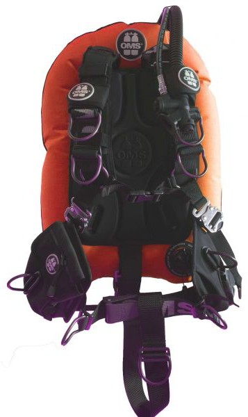"OMS Signatur System ""Comfort"" Mono Wing Set (Orange)"