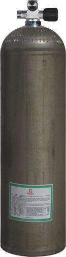 LUXFER ALU Stage Erweiterteres Monoventil RECHTS 80cuft - 11,1 Liter (Natur) SIDEMOUNT