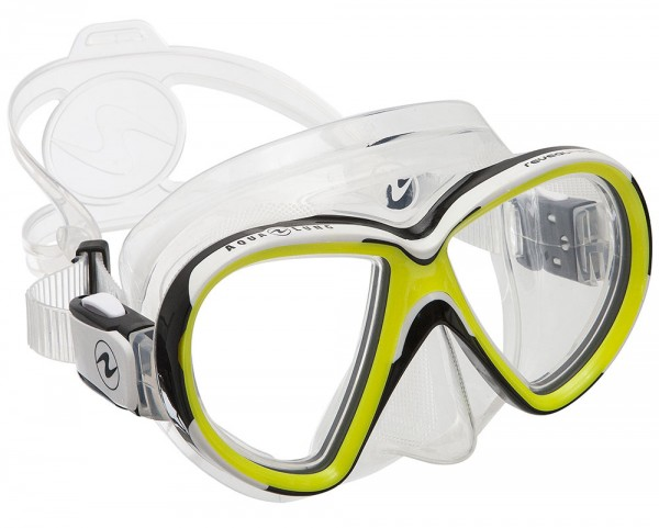 Aqualung Maske Reveal X2 (Clear - Hot Lime)