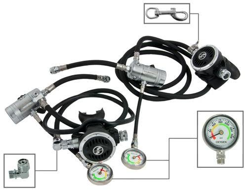 Tecline R2 TEC Sidemount Komplett Set