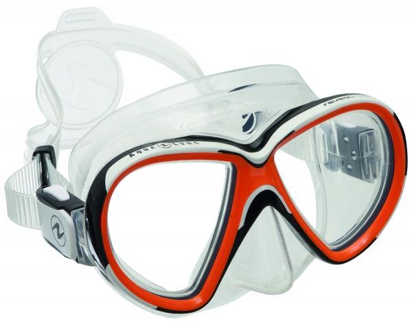 Aqualung Maske Reveal X2 (Clear-Orange)