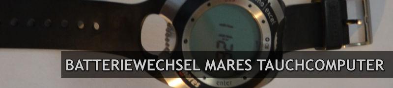 Batteriewechsel-Mares-Tauchcomputer-Banner