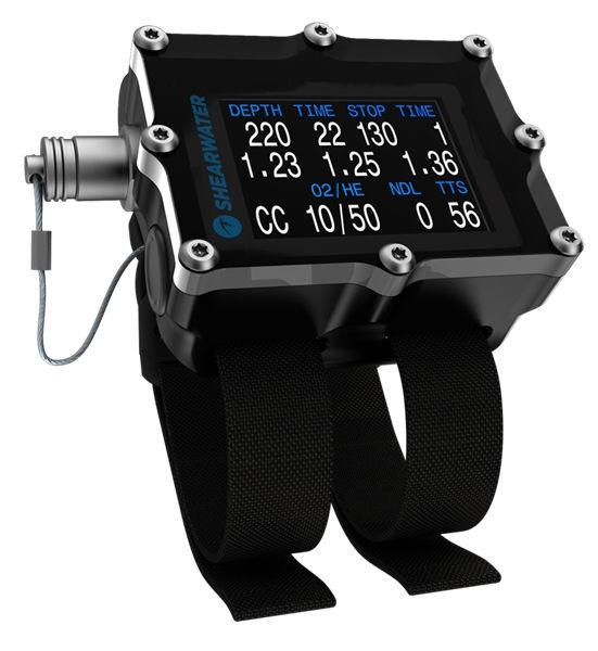 Shearwater Petrel 2 Tauchcomputer mit Fischer Connector