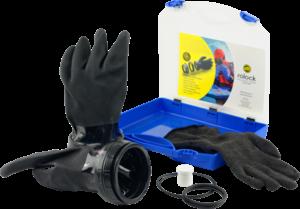 Rolock 3 Handschuhsystem (schwarz)