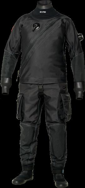 BARE X-Mission Trockentauchanzug schwarz (Herren)