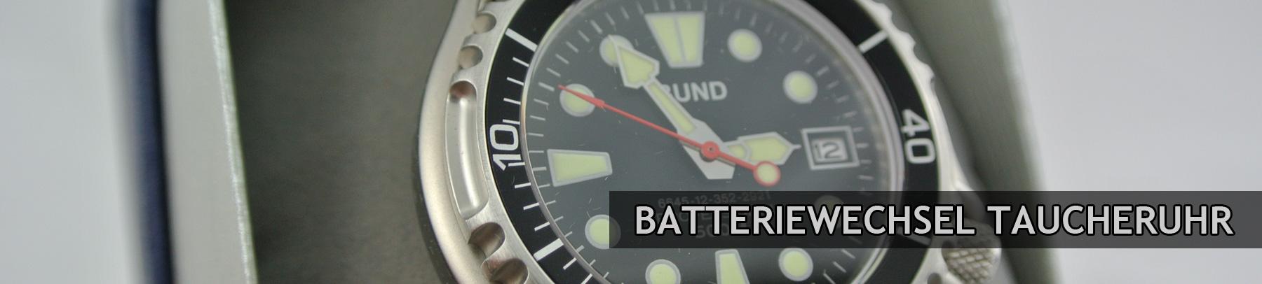 Batteriewechsel-Taucheruhr-Banner