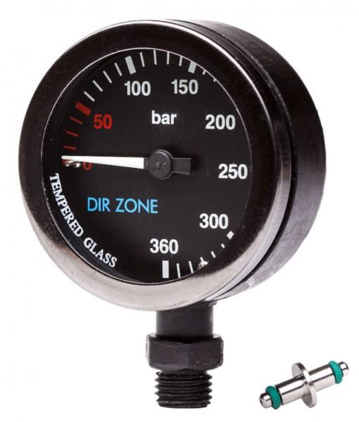 DIRZONE Finimeter 52mm 300bar schwarz