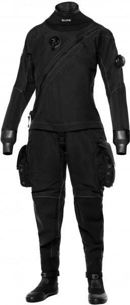 BARE X-Mission Evolution Trockentauchanzug schwarz (Damen)