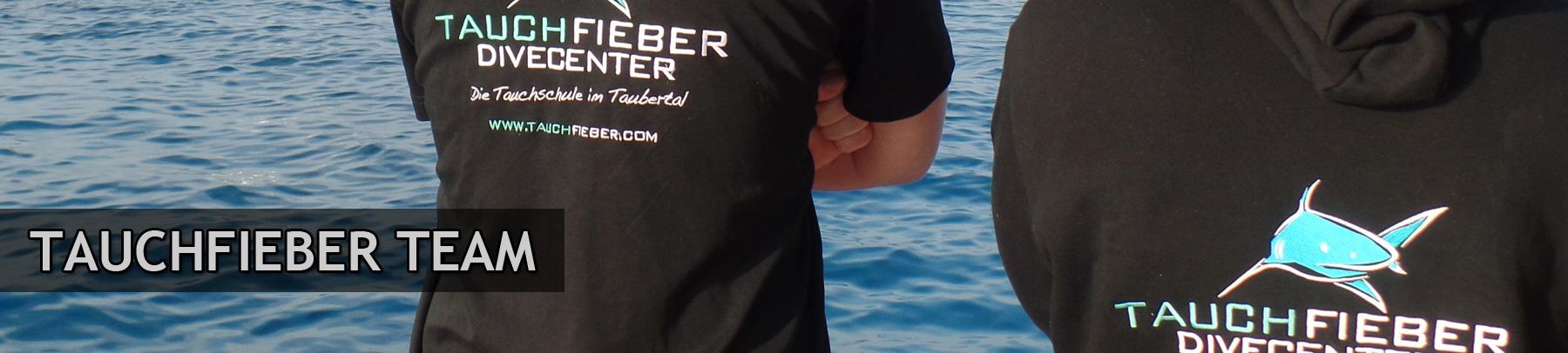 Tauchfieber-Team-Banner