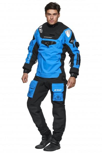 Waterproof EX2 Trockentauchanzug Blau