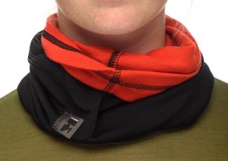 KWARK Buff (Multifunktionstuch) schwarz - rot