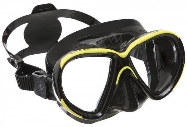 Aqualung Maske Reveal X2 (Black - Hot Lime)
