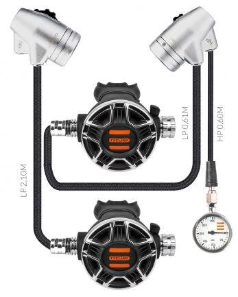 Tecline V2 TEC2 DIR Atemregler Set