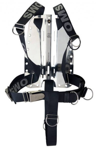 OMS Edelstahl Backplate inkl. CR Smart Stream Harness