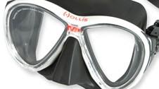 Optische Gläser für Hollis M3 Tauchmaske