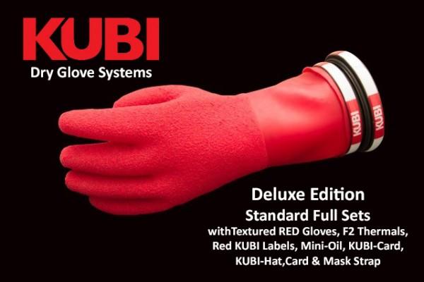 """KUBI Handschuhsystem """"Standard Range"""" Special Edition Red Deluxe"""