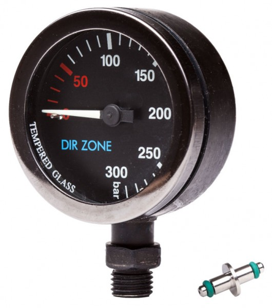 DIRZONE Finimeter 52mm 200bar schwarz