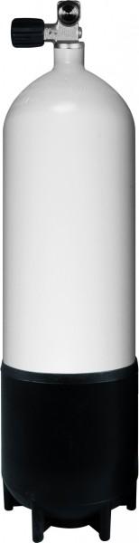 10 Liter Tauchflasche inkl. Monoventil (Stahl)
