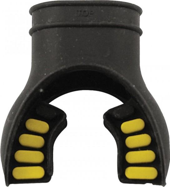 Atemregler Mundstück (Schwarz-Gelb)