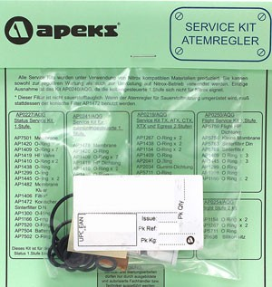 APEKS Revisions Kit 1. Stufe (Travel Kit)