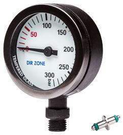 DIRZONE Finimeter 52mm 200bar schwarz - weiß
