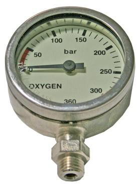 Dirzone Finimeter Oxygen verchromt (52mm)