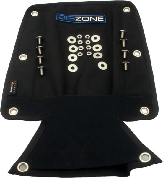 DIRZONE Storage Pack (Rückenpolster) Schwarz