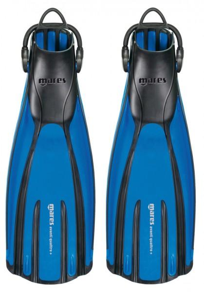 Mares QUATTRO+ Taucherflosse (blau)