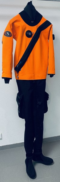 Ursuit Softdura Orange Testanzug Herren Gr. M