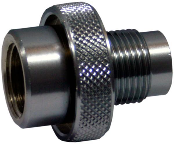 200 bar Adapter weiblich auf 300 bar männlich (G 5/8)
