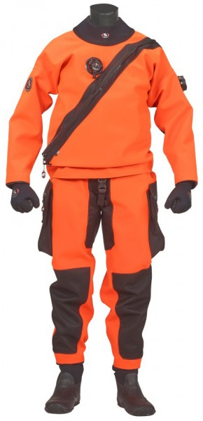 Ursuit Softdura Orange Trockentauchanzug