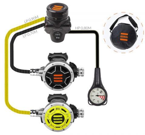 Tecline R5 TEC1 Atemregler Set