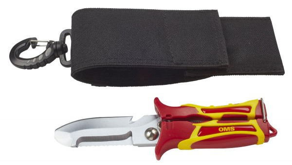 OMS SK1 Taucher Schere / Messer