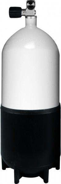 BtS Tauchflasche 12 Liter kurz Stahl inkl. Monoventil (232Bar)