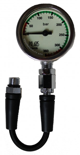 Polaris Finimeter 52mm inkl. 15 cm Miflex HD Schlauch