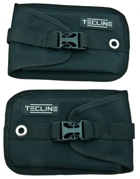 Tecline Bleitaschen für Sidemount (Paar)