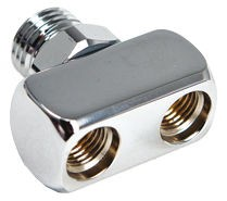 Mitteldruck 2-Fach Verteiler / Adapter