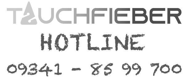Tauchfieber-Tauchshop-Hotline