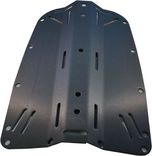 Tecline ALU Backplate Schwarz
